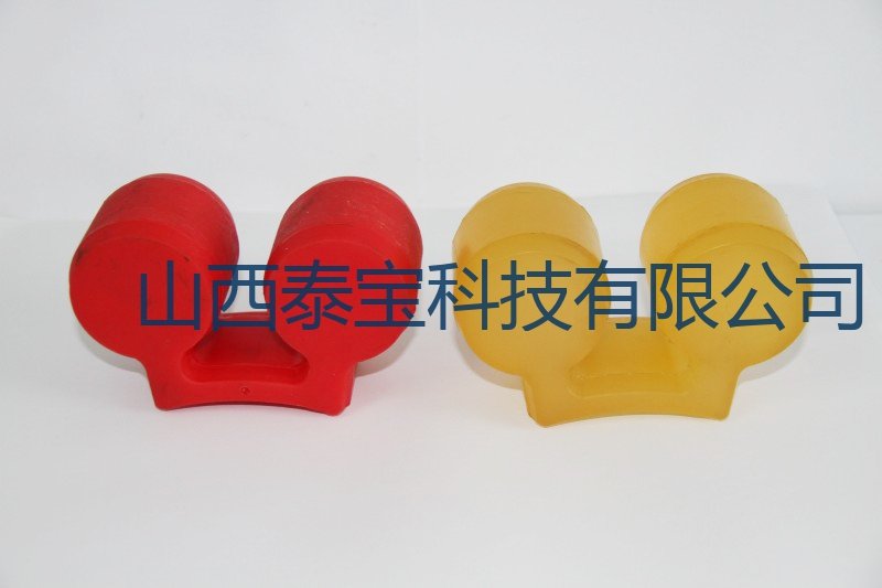 聚氨酯两瓣弹性缓冲垫02